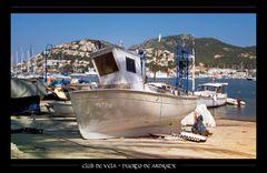 Bootsbau in Puerto de Andratx