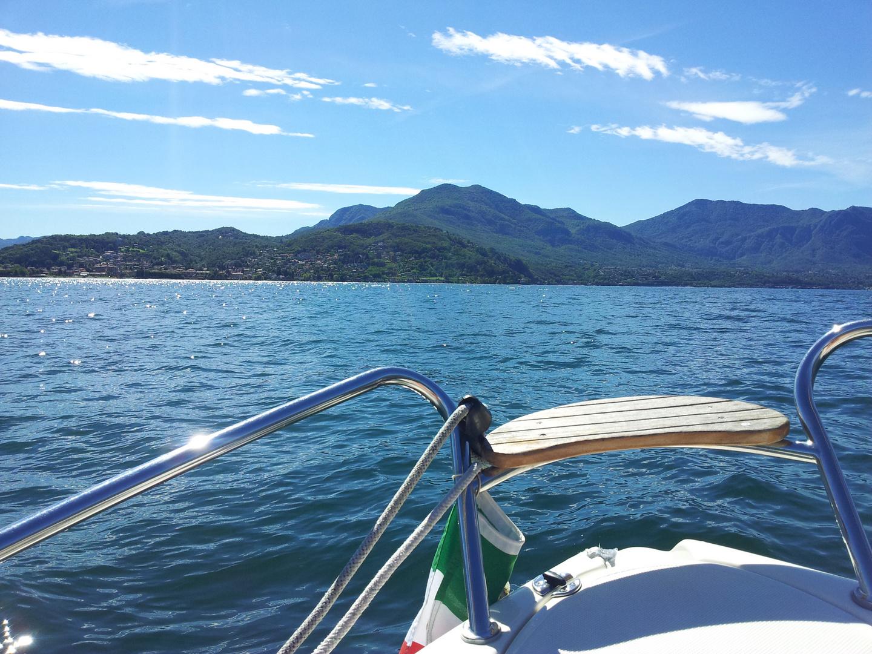 Bootsfahrt auf dem Lago