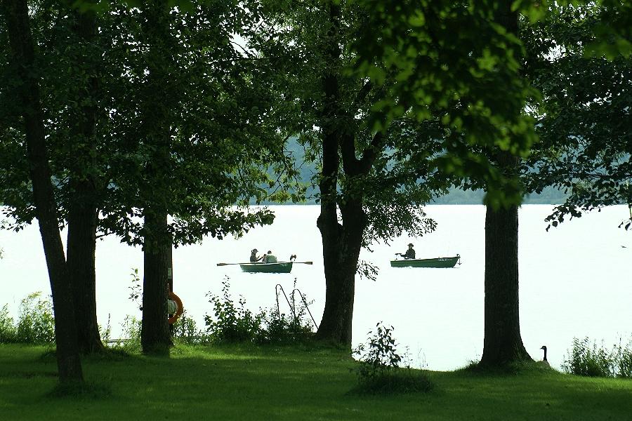 """Bootsfahrt auf dem """"Milchsee"""" und......"""