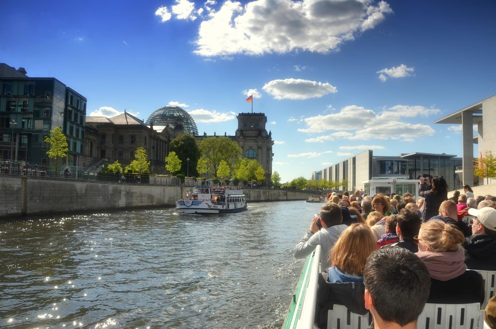 Bootsfahrt Berlin