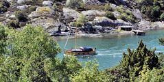 Bootsfahrt in den Schären