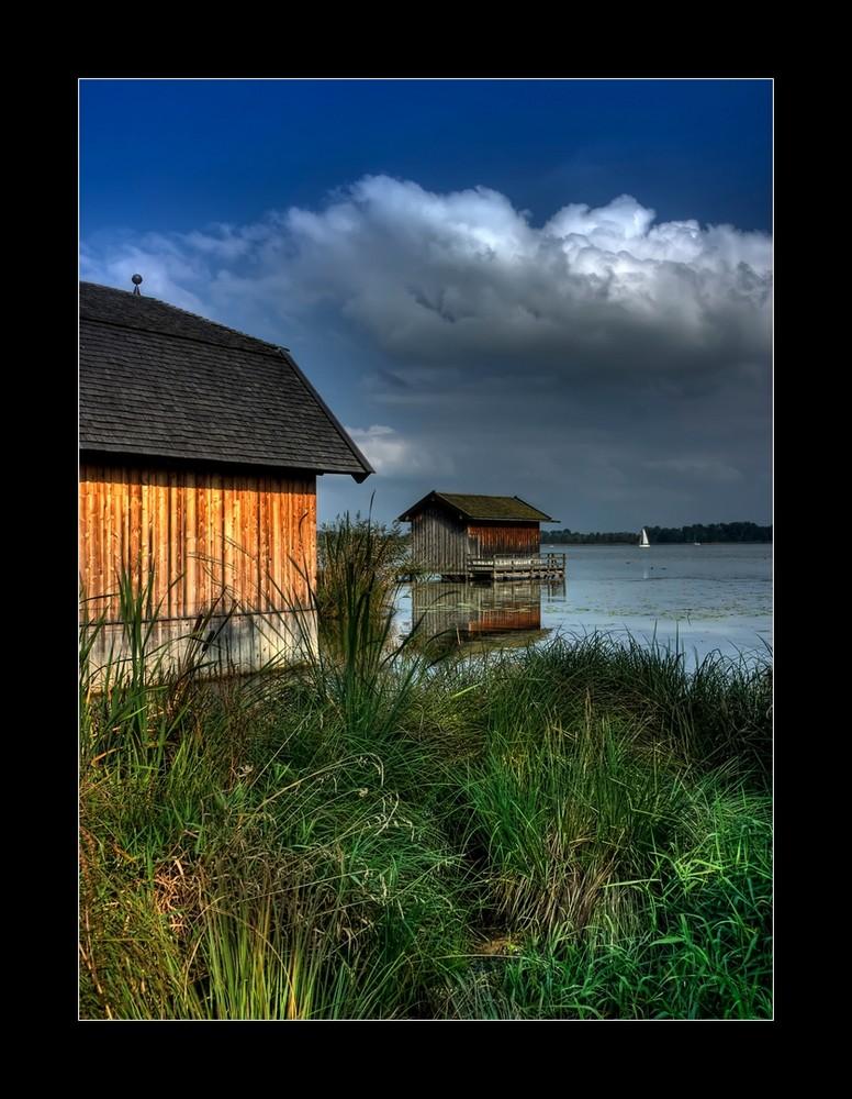 Bootshäuser an der Schafwaschnerbucht III