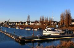 Bootshafen in Leverkusen-Hitdorf