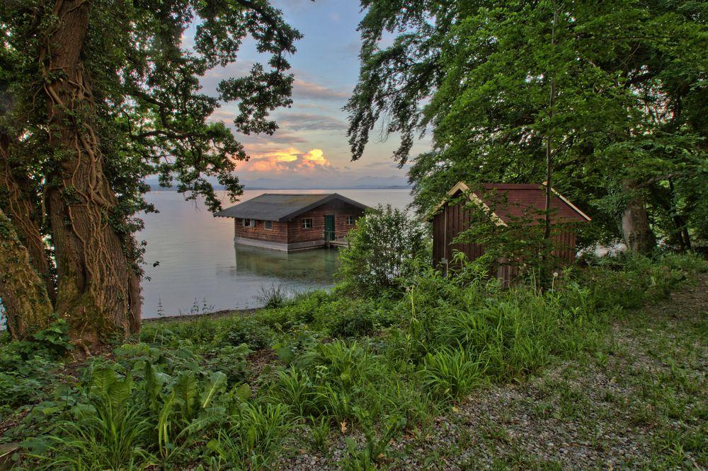 Bootshaus am Starnberger See