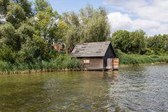 Bootshaus auf der Müritz