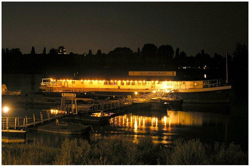 Bootshausansicht für die Spätankömmlinge