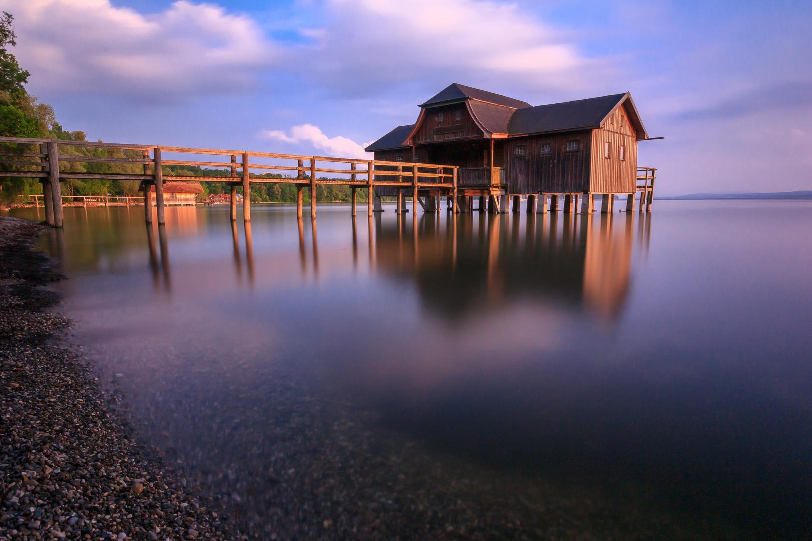 Bootshütte am Ammersee