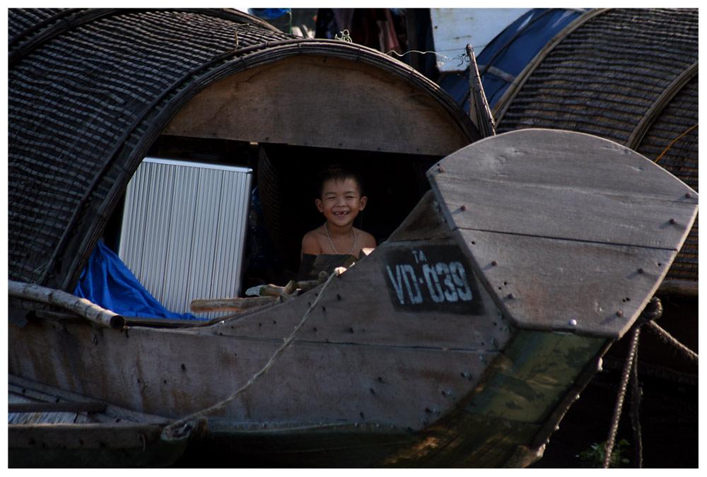 Bootskind in Vietnam