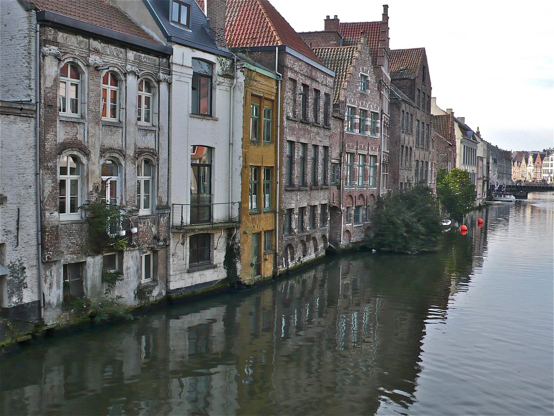 Bootsstadt Gent in Belgien - Bild 17
