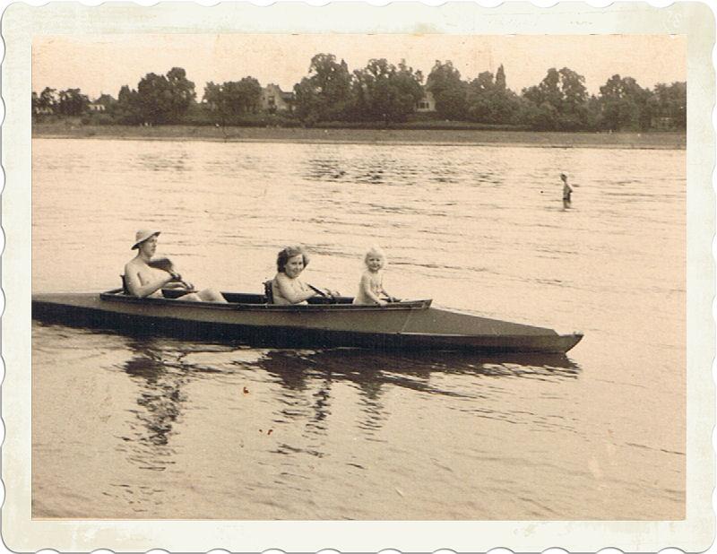 Bootstour auf dem Rhein