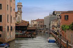 Bootswerft Squero Venedig