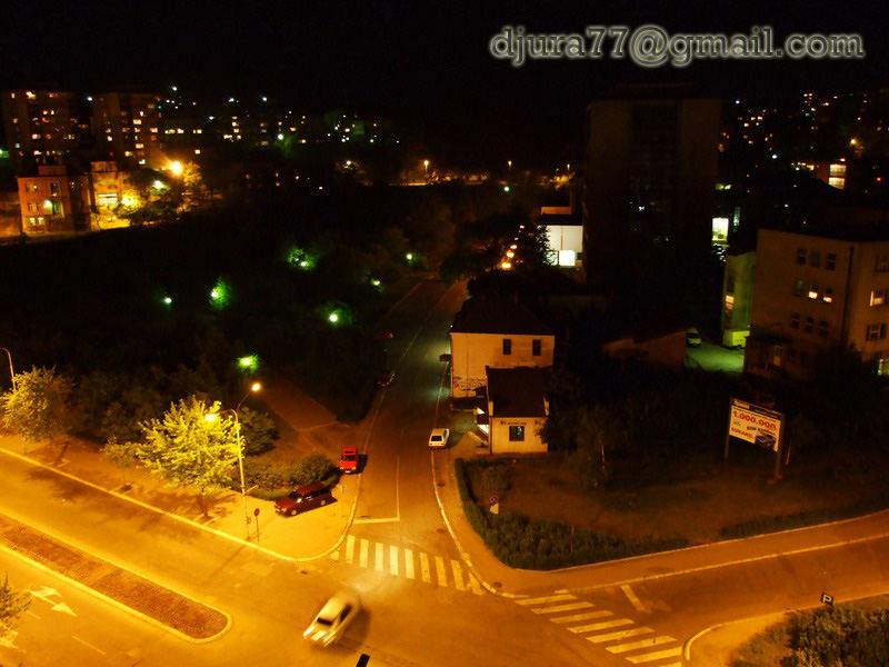 Bor at night