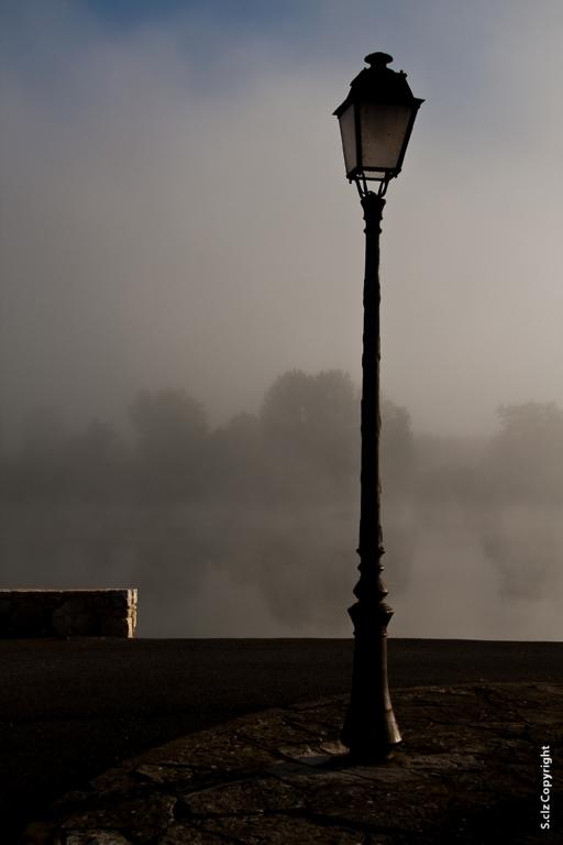 bord de l'Adour au petit matin