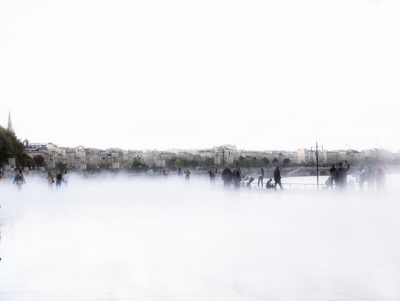 Bordeaux Le miroir d'eau