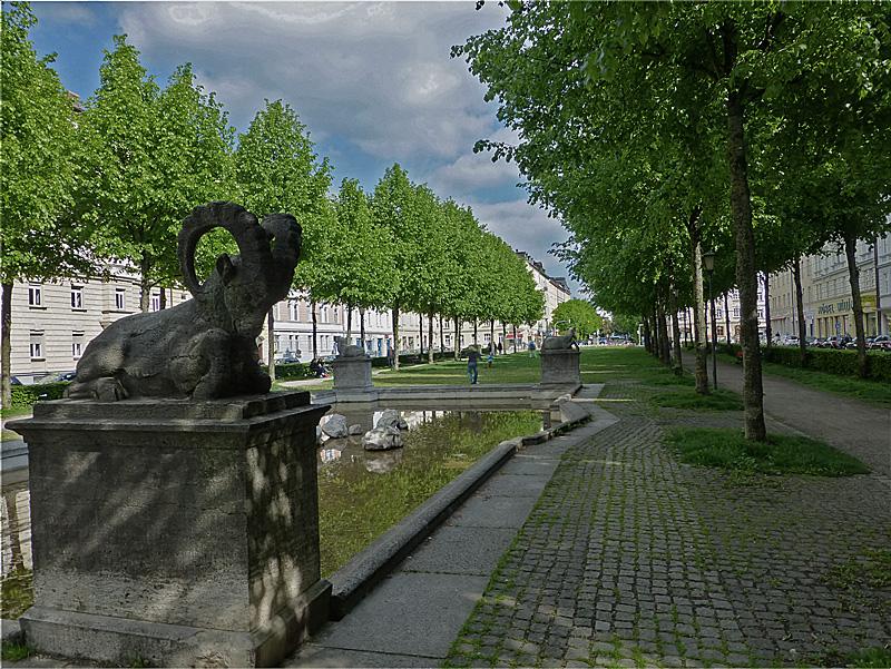 Bordeaux Platz in München