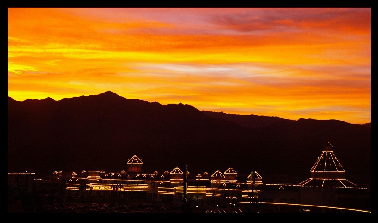 Border Sunset