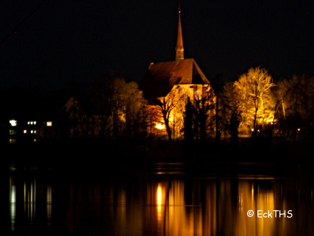 Bordesholmer Klosterkirche im Licht