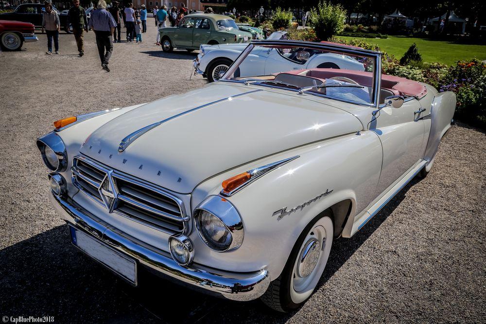 Borgward Isabella Cabriolet D 1960 bei Classic Cars Schwetzingen 2018