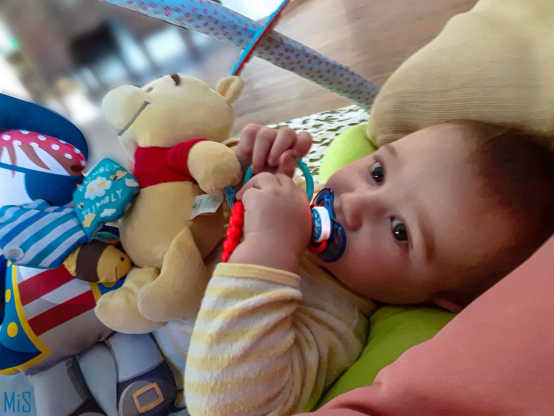 Borja, sus juguetes... y yo