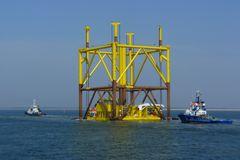 "Borkum 2010 - Plattform ""Bard Offshore 1"""