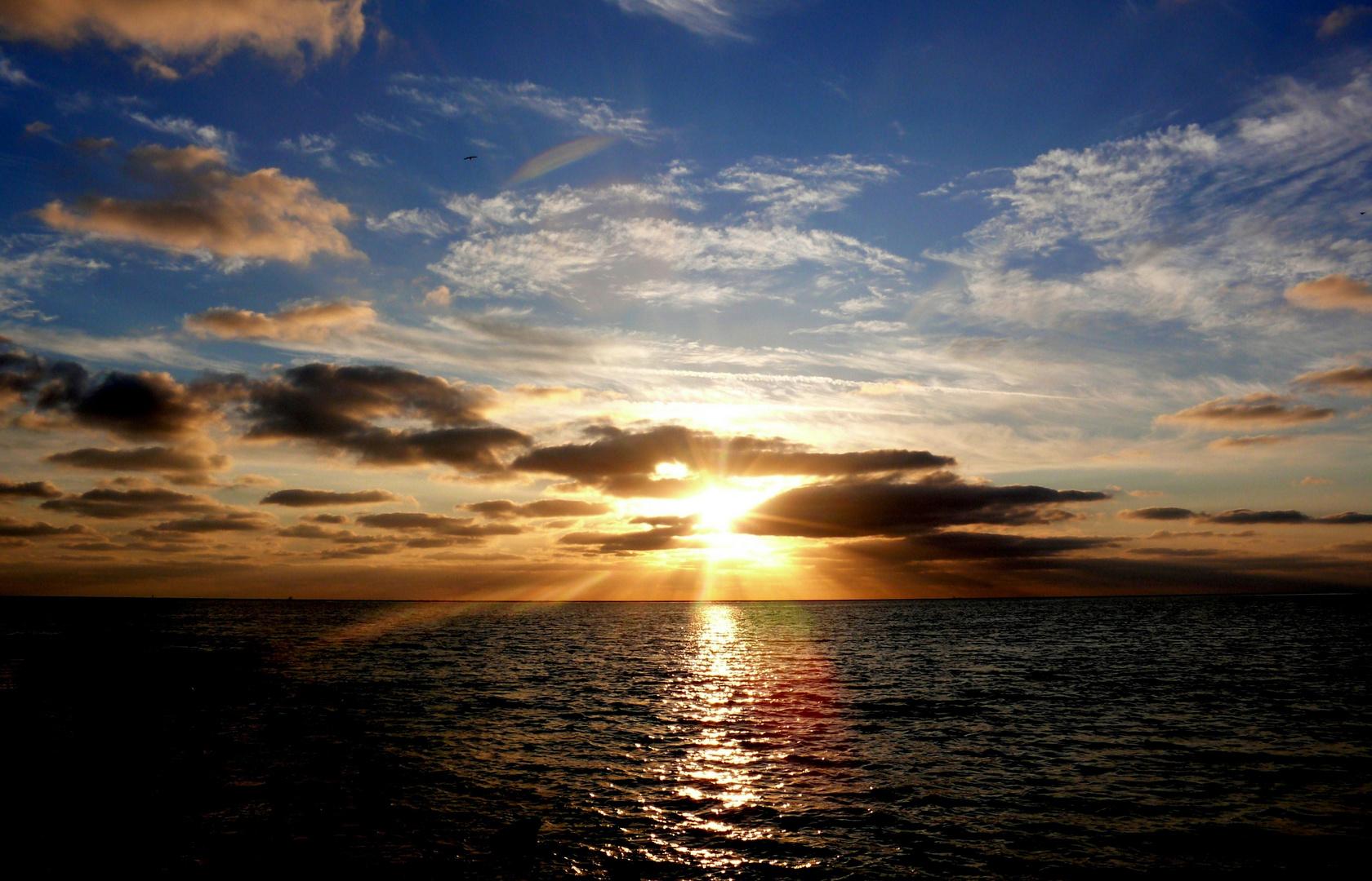 Borkum 2010 - Sonnenuntergang