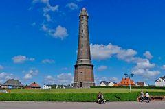 """Borkum - Blick auf den """"Neuen Leuchtturm"""""""