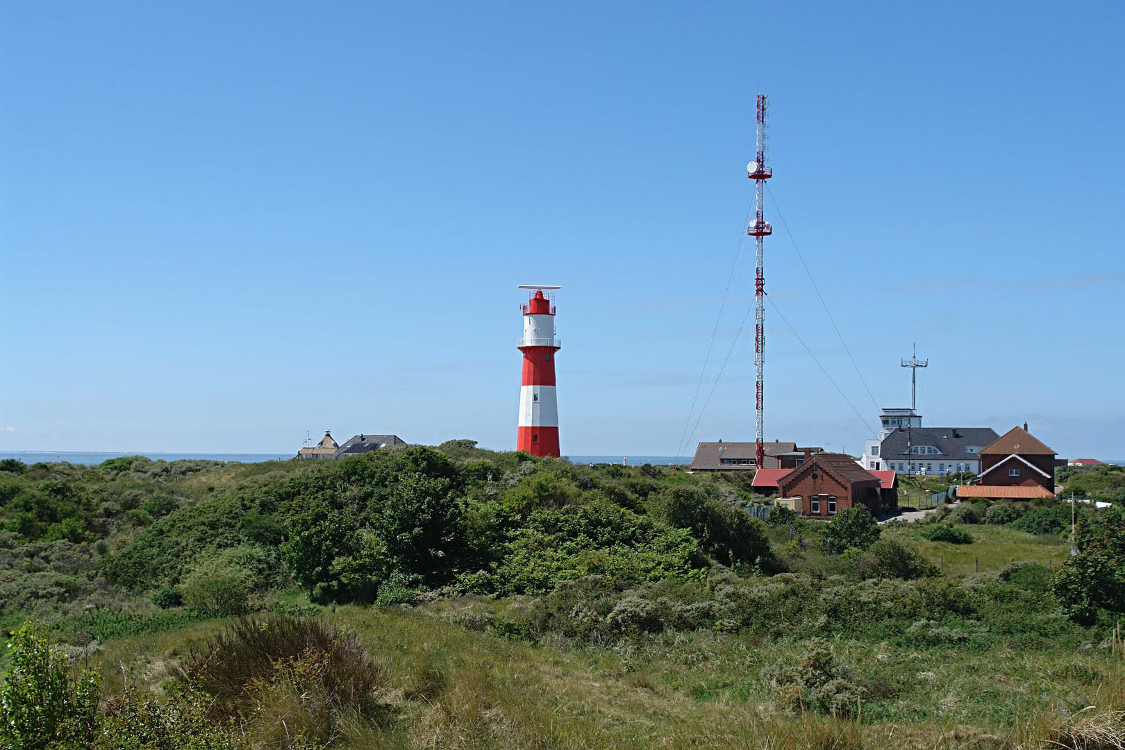 Borkum: Leuchtturm am Südstrand