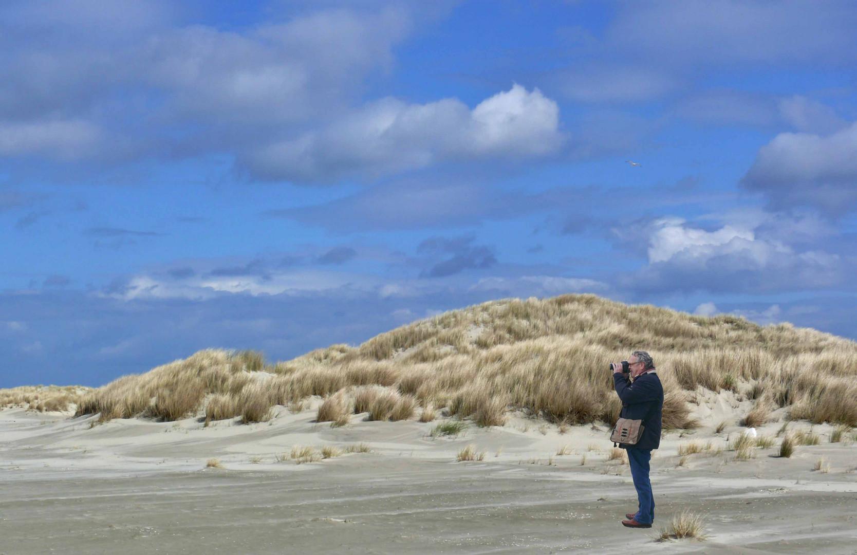 Borkum - Mit fc-Freund Friedhelm Ohm auf Tour durch Oldmanns Olde Dünen