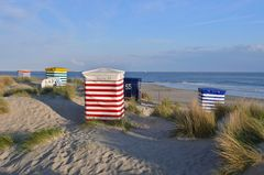 Borkum - Strandzelte am Südstrand