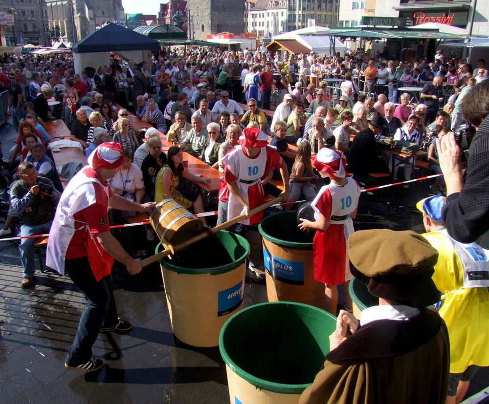 Bornknechtrennen zum Salzfest 2009 in Halle/S