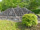 Borodur-Tempel im Minimundus (Magelan - Indonesien)