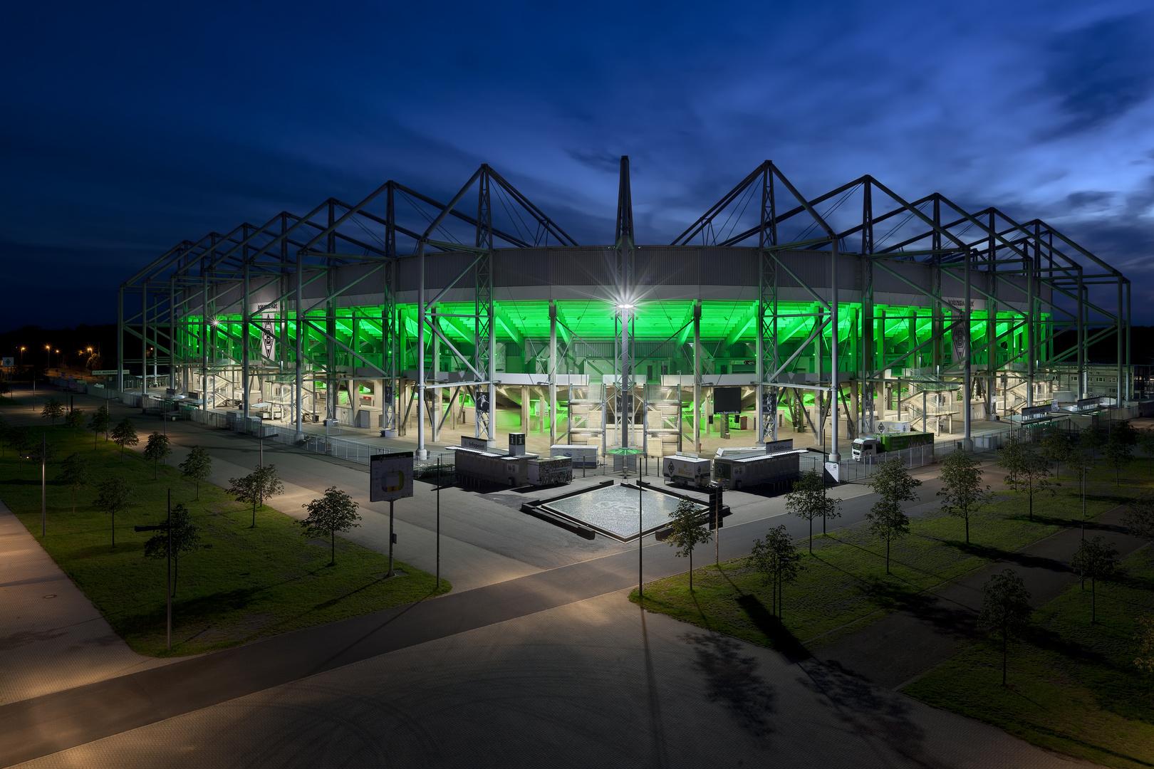 Borussia Park I – Borussia Mönchengladbach – Wolkenstimmung