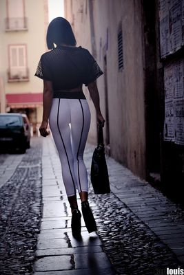 Geile weiber in leggings