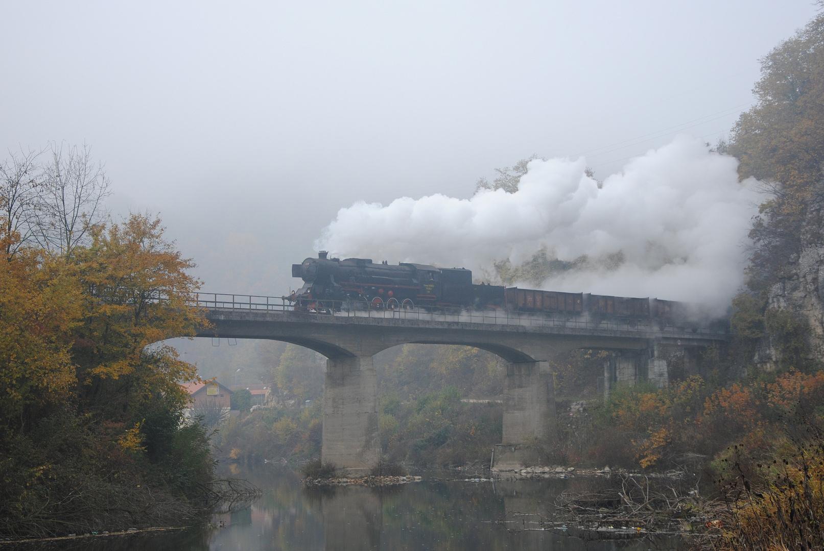 Bosnien im Nebel
