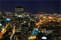 Boston bei Nacht