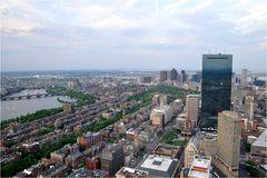 Boston von oben