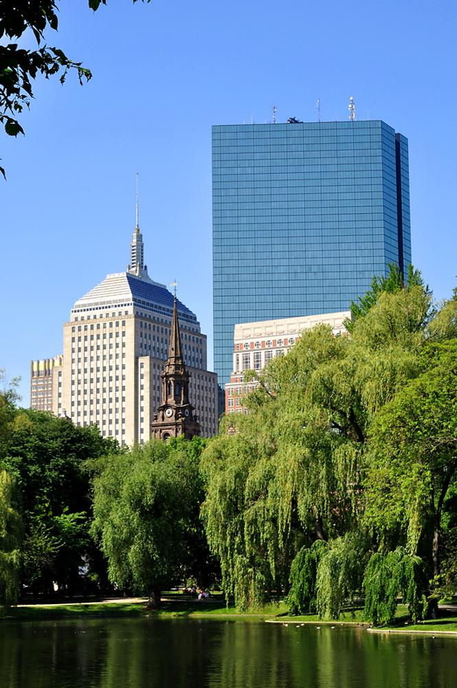 Bostoner Grünansichten