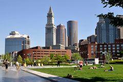 Bostoner Stadtansichten