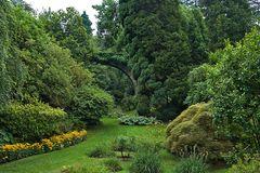 Botanischen Garten.