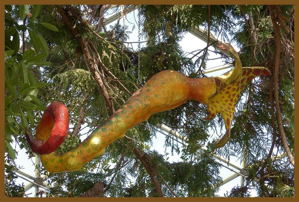 Botanischer biomorpher Phänomen