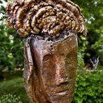 """Botanischer Garten in Graz mit Skulptur """"Hirngespinst"""" von Thomas Resetarits"""