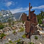 """Botanischer Garten in Graz mit Skulptur """"No Return"""" von Uta Podensdorfer!"""