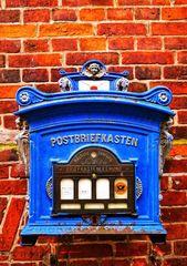 Boîte aux lettres à Lauenburg