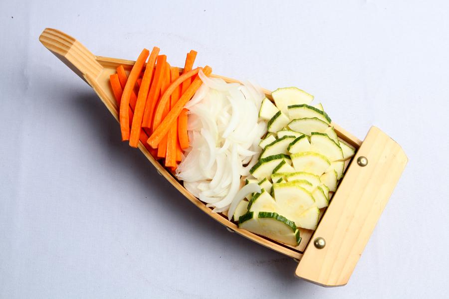 Bote de verduras