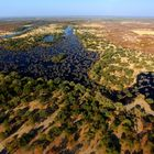 Botswana: Flug übers Okavango Delta