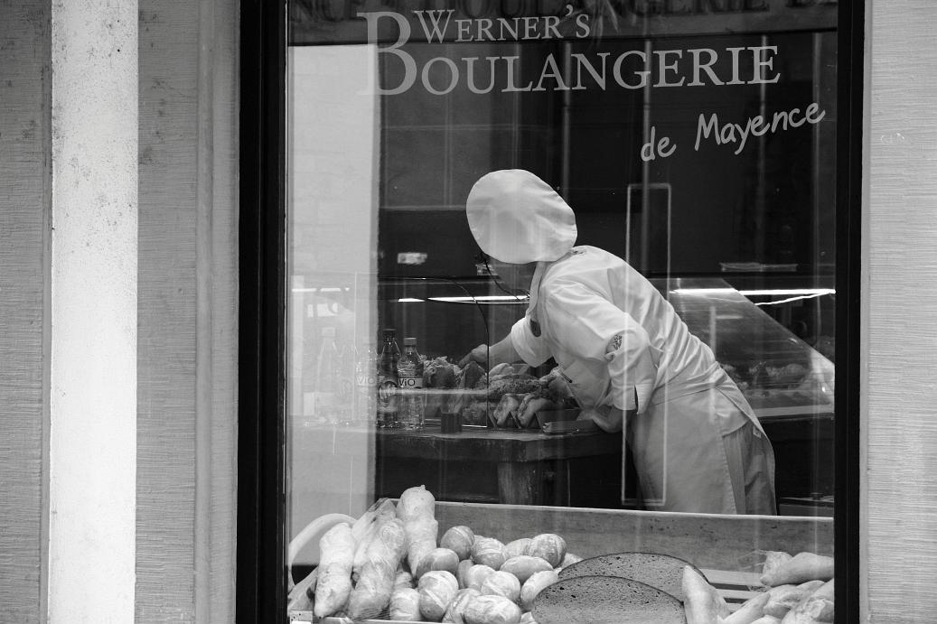 Boulangerie ... Nostalgie pur ...