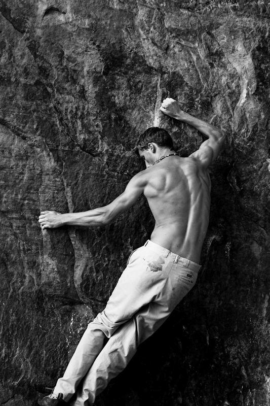 Bouldern macht stark