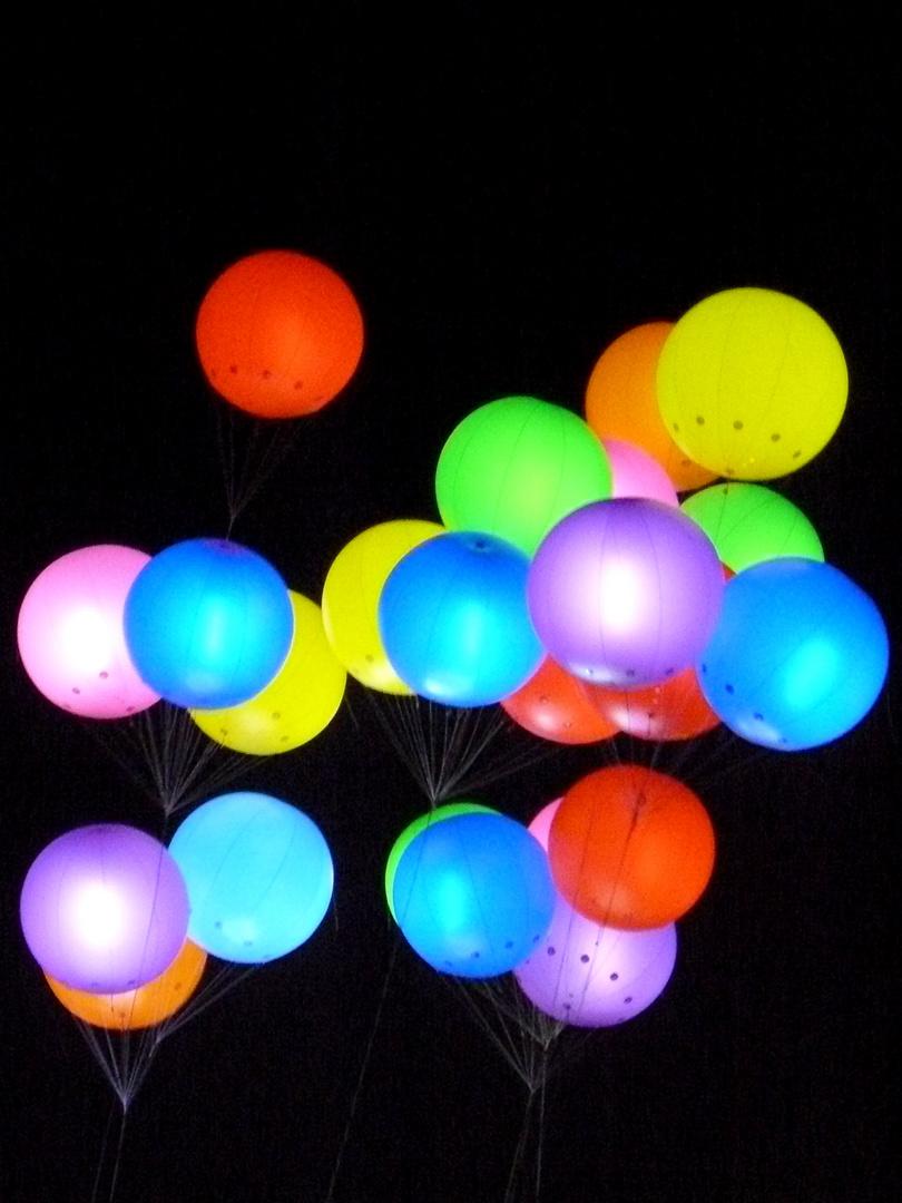Boules de lumière