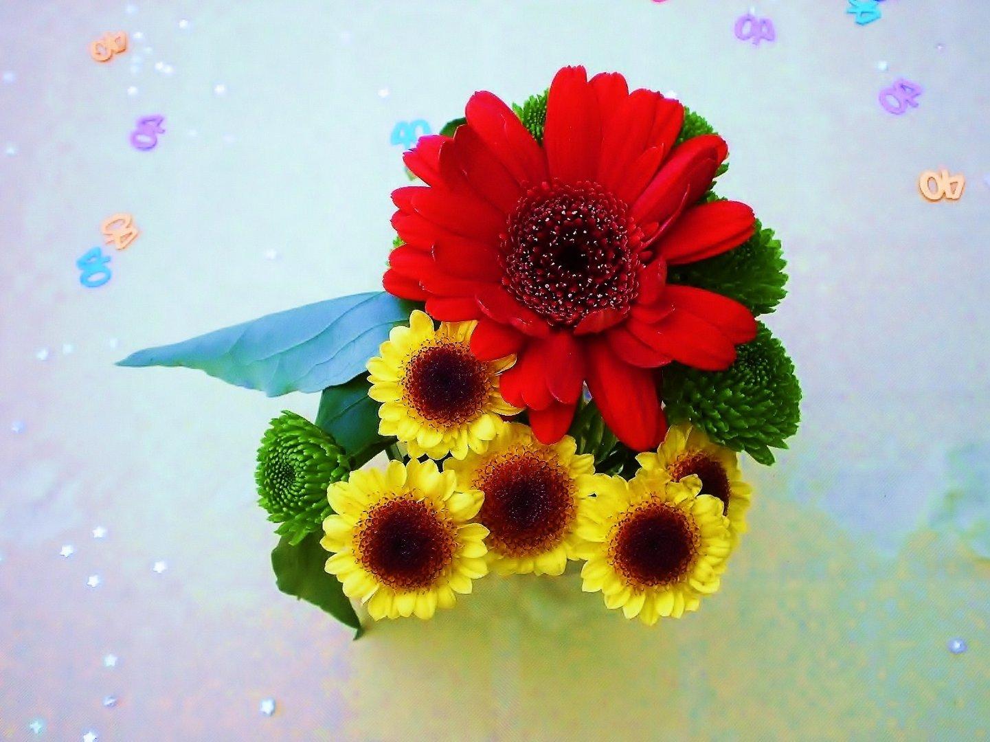 bouquet de fleurs........