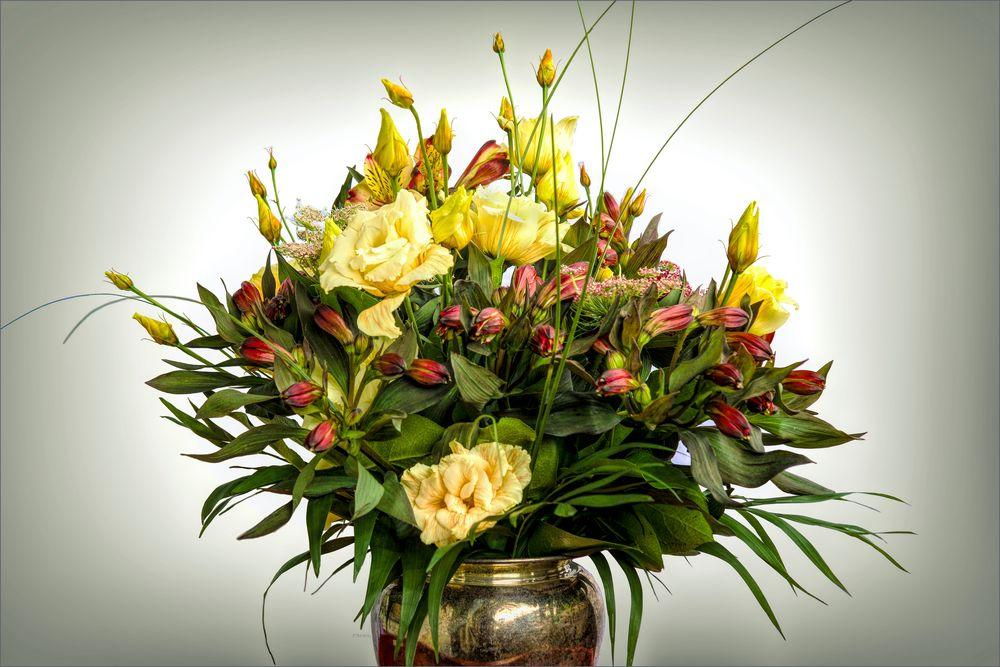Bouquet zum 45. Hochzeitstag